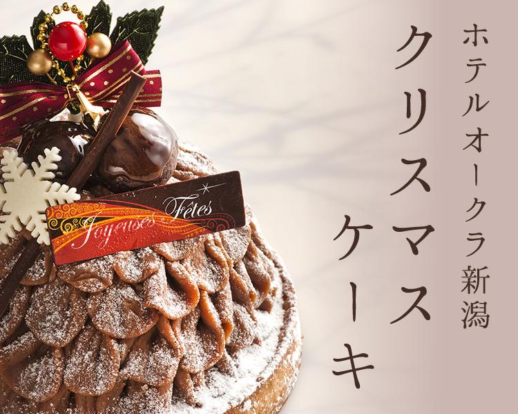 ホテルオークラ新潟のクリスマスケーキ2017